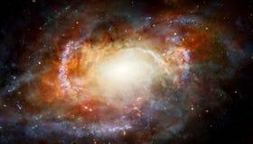 Иллюстрация межзвёздного облака Стоковые Изображения RF