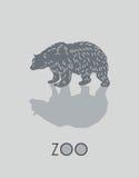 Иллюстрация медведя Стоковые Фото