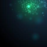 Иллюстрация молекулы дна Стоковые Изображения
