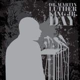Иллюстрация на день Мартин Лютер Кинга Стоковая Фотография