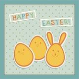 Иллюстрация на пасхальных яйцах Стоковая Фотография