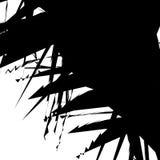 Иллюстрация нервных, хаотических форм художническая не-figural Аннотация Стоковые Фото