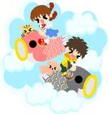 Иллюстрация дня детей Стоковые Фотографии RF