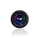 Иллюстрация объектива фотоаппарата Стоковое Изображение