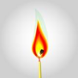 Иллюстрация огня Стоковые Изображения