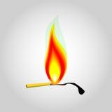 Иллюстрация огня Стоковое Изображение RF