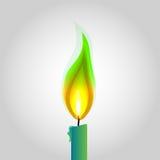 Иллюстрация огня Стоковое фото RF