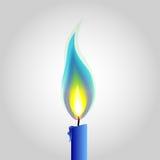 Иллюстрация огня Стоковые Изображения RF