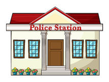 Отделение полици Стоковые Фотографии RF