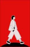 Иллюстрация о девушке Reilly Стоковое Изображение
