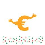 Иллюстрация одно валют комплекта Стоковые Изображения