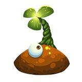 Иллюстрация: Одн-наблюданный изверг лука Стоковая Фотография RF