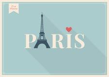 Иллюстрация Парижа, Эйфелева башни Стоковое фото RF