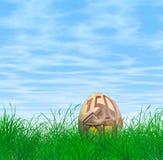 Пасхальное яйцо евро 50 Стоковые Фотографии RF