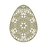Иллюстрация пасхального яйца Стоковое Изображение