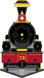 Иллюстрация поезда шаржа западная Стоковое Фото