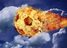 иллюстрация пожара конструкции черноты шарика предпосылки Стоковые Фотографии RF