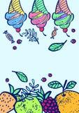 Иллюстрация помадок Стоковая Фотография RF