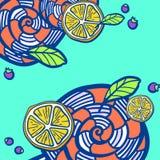 Иллюстрация помадок Стоковые Фотографии RF