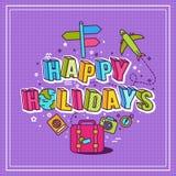 Иллюстрация праздников Стоковые Фото