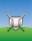Иллюстрация предпосылки бейсбола Стоковая Фотография RF
