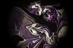 Иллюстрация предпосылки градиента жидкостной формы Стоковая Фотография RF