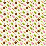 Иллюстрация предпосылки картины мороженого Иллюстрация штока