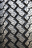иллюстрация предпосылки 3d над белизной колеса резиновой автошины Стоковые Изображения