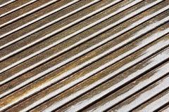 Иллюстрация предпосылки stiped коричневым цветом Стоковая Фотография RF