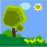 Иллюстрация природы Стоковые Фото