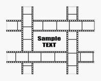 Иллюстрация прокладки фильма вектора иллюстрация вектора