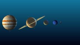 Иллюстрация планет нашей солнечной системы бесплатная иллюстрация