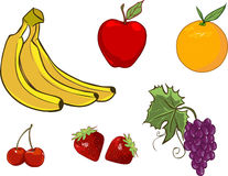 Иллюстрация плодоовощ Стоковое Фото