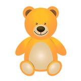 Иллюстрация плюшевого медвежонка - игрушки для детей Стоковые Фотографии RF