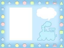 Иллюстрация рамки шаржа детей Стоковые Изображения