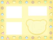 Иллюстрация рамки шаржа детей Стоковое Изображение
