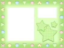 Иллюстрация рамки шаржа детей Стоковые Изображения RF