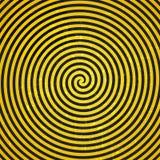 Иллюстрация ретро винтажного Grunge гипнотическая Background.Vector Стоковое Изображение