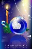 Иллюстрация рождества Стоковые Изображения RF