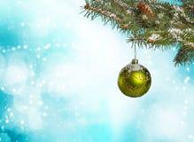 Иллюстрация рождества Branch Стоковые Фотографии RF