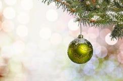 Иллюстрация рождества Branch Стоковая Фотография RF