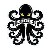 Иллюстрация рыб осьминога стоковые изображения