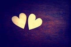 иллюстрация сердец дня изолировала белизну Валентайн влюбленности романскую s Валентайн дня s Стоковое Изображение