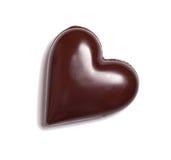 иллюстрация сердца конструкции шоколада 3d графическая представила Стоковые Фото