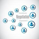 иллюстрация сети людей переговоров бесплатная иллюстрация