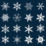 Иллюстрация снежинок Стоковая Фотография RF