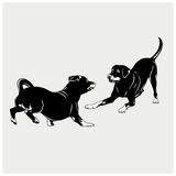 Иллюстрация собаки Стоковые Изображения RF