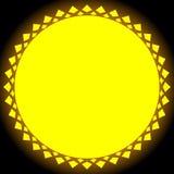 Иллюстрация Солнця, зажим-искусство солнца для природы, солнечного света, лета conc бесплатная иллюстрация