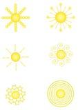 Иллюстрация Солнця Стоковая Фотография RF