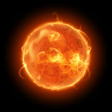 Иллюстрация Солнця иллюстрация вектора